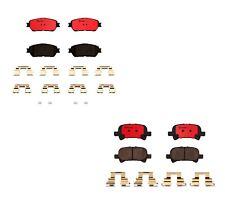 Front & Rear Brembo Brake Pads Set Kit For Toyota Solara 2004-08 Avalon 2005-07