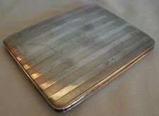 "ART DECO FRENCH 950 GILT  SILVER CIGARETTE CASE, INSCRIBED ""A.SCHMIH""- 123 grams"