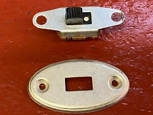 1930 's 1940 's  DOME LIGHT SWITCH AND PLATE CHEVY BUICK DODGE OLDS GM STUDE