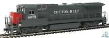 WALTHERS HO GE Cotton Belt Dash 8-40B SSW #8078 910-9555 DCC-Ready