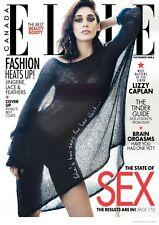 ELLE Canada Magazine #161 November 2014: LIZZY CAPLAN - Masters of Sex Siren