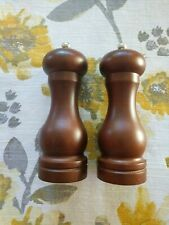 COLE & MASON Capstan Wood Salt and Pepper Grinder Set - Wooden Mills