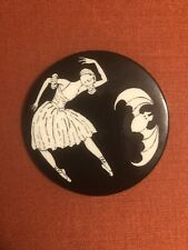 Edward Gorey New York City Ballet Pinback, NYCB, Goreyana, Halloween, Bat