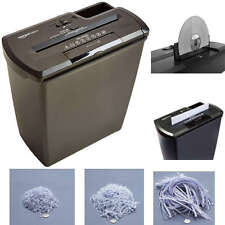 Shredder Paper Destroy 8 Sheet Documents Strip Cut Heavy Duty Credit Card CD DVD