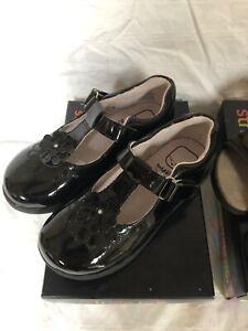 Stride Rite Cassandra Mary Janes black Sz 11 toddler girl shoes
