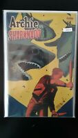 Archie Vs Sharknado 1 Variant Cover Archie High Grade Comic Book RM8-86