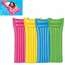 Materassino Gonfiabile Mare Colorato 183 Cm Con Cuscino mare piscina