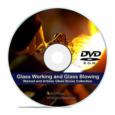 Learn Glass Blowing, 44 Classic Books, 80 How To Videos, 14 Hours, more DVD V79