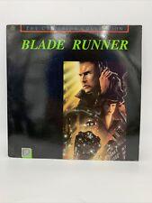 Blade Runner -Ridley Scott / Harrison Ford- The Criterion Collection Laserdisc