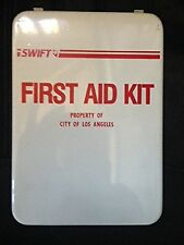 Swift Metal Empty Medical First Aid Kit Box Cabinet Mountable Waterproof Office