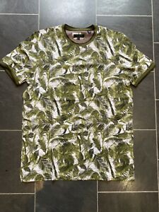 Ted Baker Mens Polo T-Shirt Size 5 UK XL Ted Baker