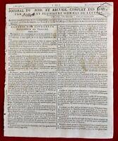 Mousseaux en 1798 Ecouen Ezanville Aérostat Sonthonax Haïti USA Philadelphie