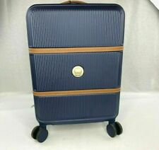 DELSEY Paris Chatelet Hard+ Hardside Carry-on Spinner Suitcase, Navy Blue,