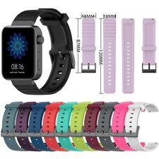 18mm Soft Silicone Watch Band Bracelet Strap Wristband for Xiaomi Smart Watch