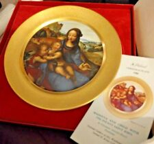 Pickard Christmas plate - 1980 - Madonna and Child with Infant Saint John