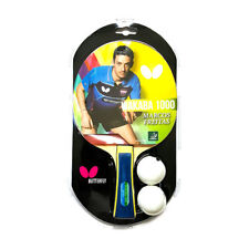 Wakaba 1000 - Butterfly Table Tennis Bat with Rubber