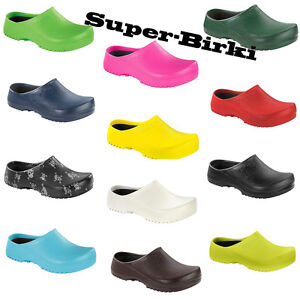 Birkenstock Super Birki Clogs Shoes Birkis Alpro Foam Sandals Garden Work Sandal