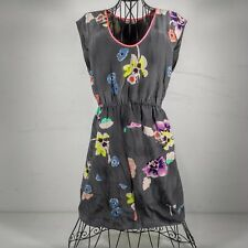 Rebecca Taylor - printed silk dress - Size 2