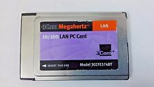 3Com Lan Pc Card 10/100 Network Laptop Pcmcia 3Ccfe574Bt 6V 16 Snhhl1Ab6A74