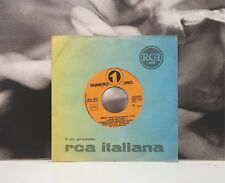 """LUCIO BATTISTI - ONLY / THE ONLY THING I'VE LOST PROMO 7"""" 45 GIRI EX 1977"""