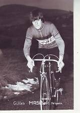 CYCLISME repro PHOTO cycliste GILLES MAS équipe MAVIC signée