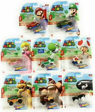 HOT WHEELS SUPER MARIO GAMING CHARACTER CARS (2020)