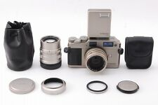 NEAR MINT Contax G1 Rangefinder w/ Carl Zeiss 45mm,90mm,TLA140 from JAPAN #1000