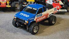 Rare Tyco Nissan 4x4 Turbo Baja Bandit Tayo Nikko blue rc truck vintage