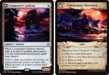 Conqueror's Galleon // Conqueror's Foothold Ixalan MTG Magic The Gathering
