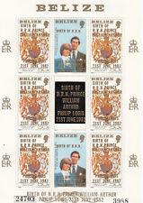 (74871) Belize MNH Prince William Birth 1982 unmounted mint