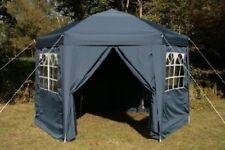 Airwave Tonnelle Pop Up hexagonale 3 5 M Bleu