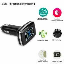 TPMS Tire Pressure Monitor System Car Cigarette Lighter Charger +External Sensor