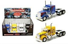 New Ray 1:32 Display Kenworth W900 or Peterbilt Model 379 Semi Trucks 1 x Piece