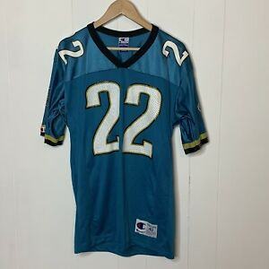Vintage 90s Champion Jacksonville Jaguars Tavion Banks 22 Football Jersey sz 40