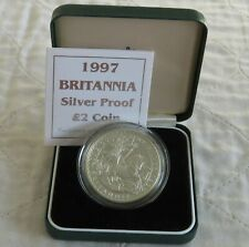 More details for 1997 silver proof £2 britannia - mintage 4173
