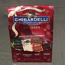 Ghirardelli Chocolate Limited Edition Holiday Squares, 15.11 oz PEPPERMINT/MINT