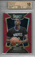 ANDREW WIGGINS 2014-15 Select RED PRIZMS RC Card BGS 10 PRISTINE #'d / 149!