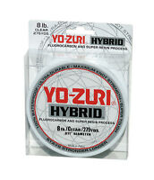 Yo-Zuri Hybrid Clear 275 Yards Monofilament Fishing Line Fluorocarbon Nylon Mix