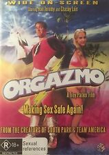 Orgazmo Chasey Lain Trey Parker South Park Team America Region 4 PAL DVD VGC