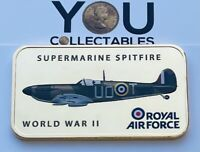 RAF Supermarine Spitfire Collection Ingot 24ct Gold Plated World War 2 Brand New