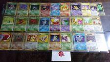 pokemon Complete TEAM ROCKET japanese card set MINT-EX 65/65 holo rare uc c