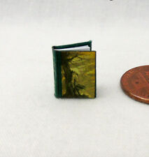 1:24 Scale Book WUTHERING HEIGHTS Miniature Book Dollhouse 1/2 Inch Scale