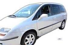 FIAT ULYSSE 2003 -2007 Front wind deflectors 2pc set Internal fit TINTED HEKO