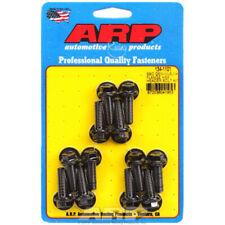 ARP Exhaust Header Bolt Kit 134-1101; Black Chromoly Hex for Chevy LS-Series