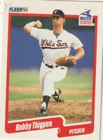 FREE SHIPPING-MINT-1990 Fleer Bobby Thigpen #549 WHITE SOX PLUS BONUS CARDS