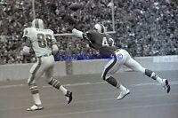 Buffalo Bills VS Miami Dolphins 9-22-1974 Jim Mandich Neal Craig 8 X 10 Photo