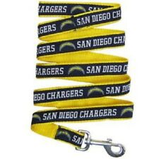"NFL San Diego Chargers Dog Leash, NEW Large 1""W x 6' L NFL Licensed Product"