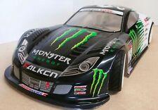 1/10 RC car 190mm on road drift Honda NSX Monster Energy Body Shell