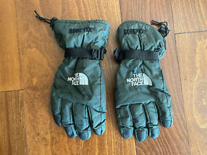 The North Face Men's Gortex Gloves Size Large Green & Black