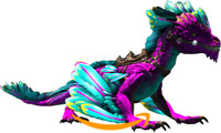 Ark Survival Evolved PC-PVE NEW-Cotton Candy Collection ROCK DRAKE [clone] Lv190